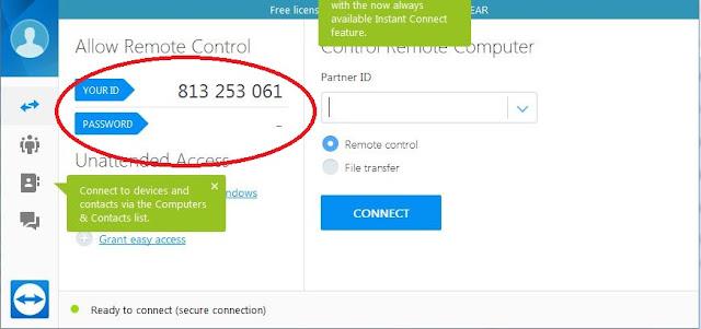 Cara Seting  Password Remote Teamviewer Tidak Berubah-ubah