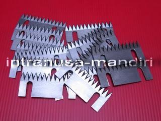 pisau perforasi, pisau zig zag, pisau kemasan renteng, pisau industri intranusa mandiri 050
