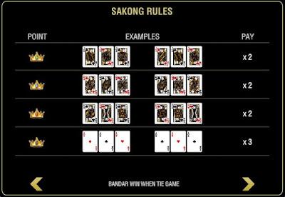 Panduan Cara bermain Judi Sakong Online