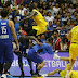 Video: Tremendo rebú en juego de baloncesto
