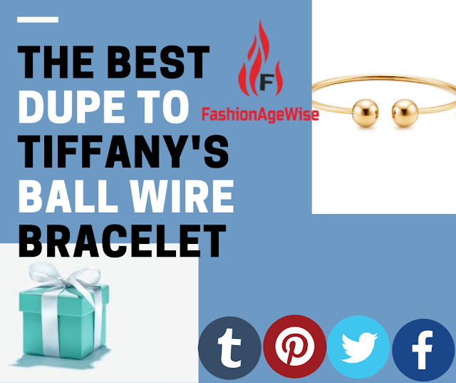 image result THE BEST DUPE TO TIFFANY'S BALL WIRE BRACELET