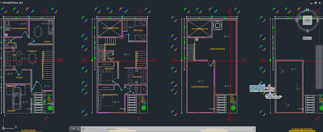 House room hatch in AutoCAD