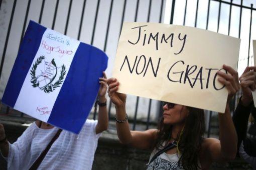 Organizaciones guatemaltecas piden renuncia de Jimmy Morales