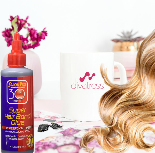 Super hair bond glue to make your own hair extensions by Barbies Beauty Bits
