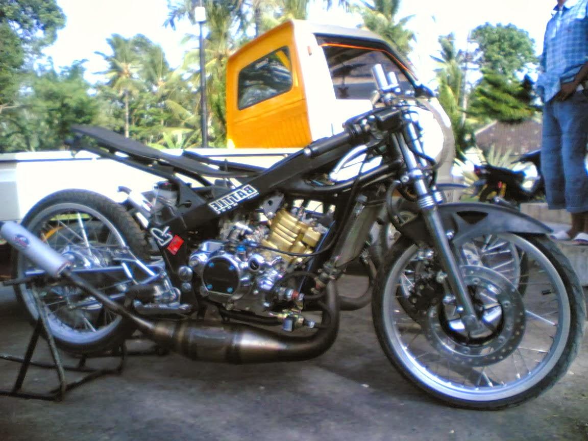 Modifikasi Motor Ninja Rr Dan Modifikasi Motor Vixion Anda Juga Bisa