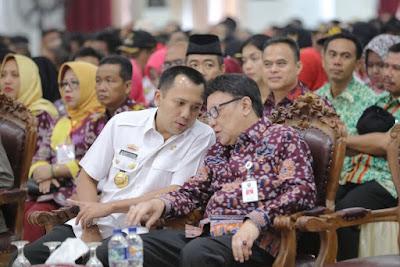 Gubernur M.Ridho Ficardo dan Mendagri Tjahjo Kumolo Buka Diklat Peningkatan Kapasitas Aparatur Pemerintahan Desa