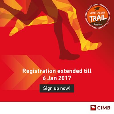 Malaysia CIMB Bank Talent Trail Undergraduate Student