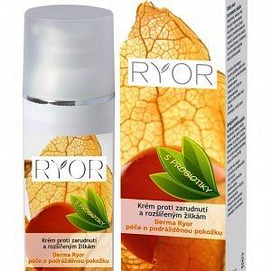 Imaginea cremei probiotice Ryor pentru tratarea capilarelor sparte