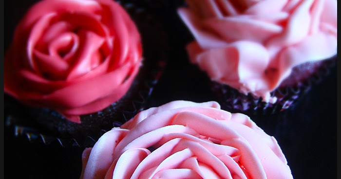 Chocolate Rose Flavored Cake