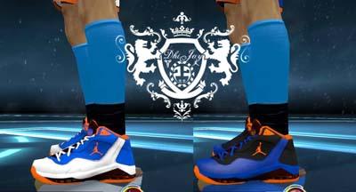 hot sale online 76892 36677 NBA 2K12 Jordan Melo M8  New York  Shoes Update