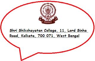 Shri Shikshayatan College, 11, Lord Sinha Road, Kolkata, 700 071, West Bengal