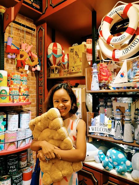 Shopping at Tickles SM North EDSA