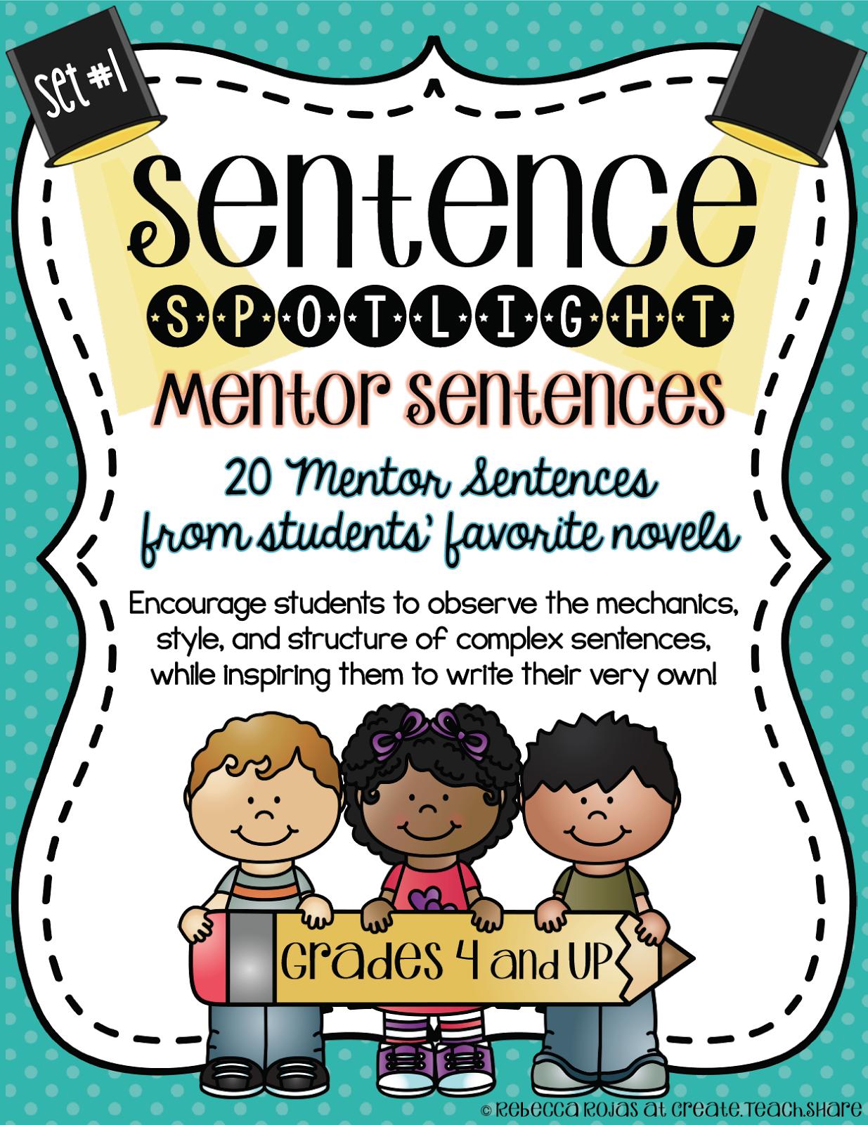 Putting the Spotlight on Mentor Sentences | Upper Elementary