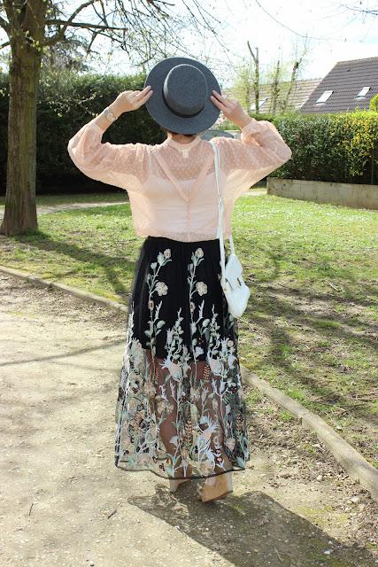 look coachella, inspiration, comment porter un canotier, les petites bulles de ma vie