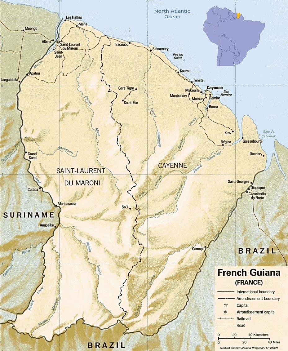 Guiana Francesa | França