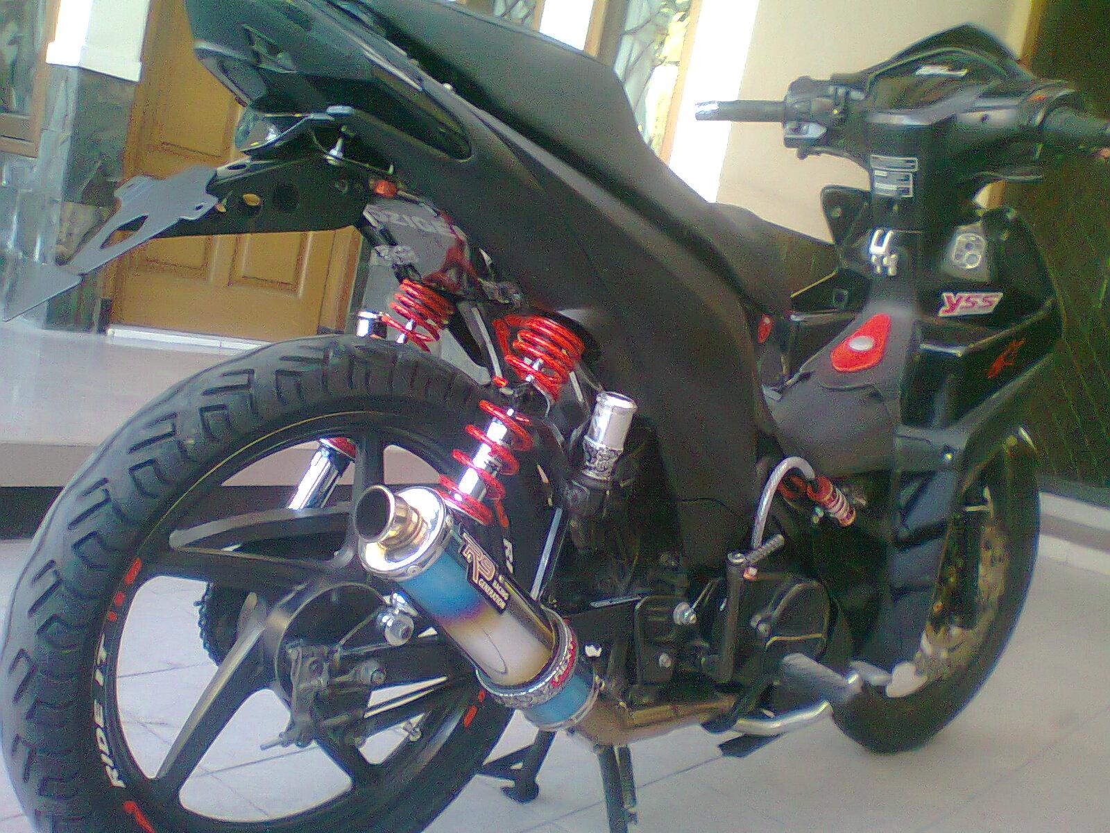Gambar Modifikasi Motor Drag Absolut Revo Pangeran Modifikasi