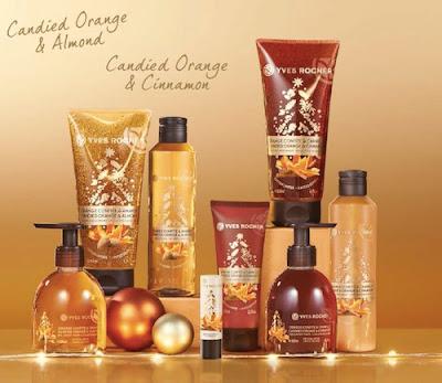 Χριστουγεννιάτικες μυρωδιές στην Yves Rocher!