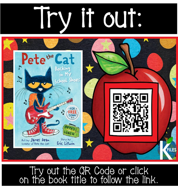 Back to School QR Code Listening Center