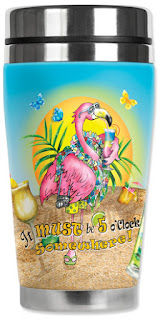 flamingo insulated tumbler
