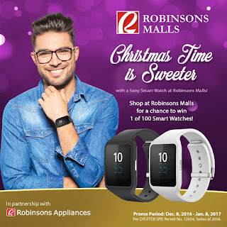 Smart Watches Robinsons Malls, Philippines contest and promos