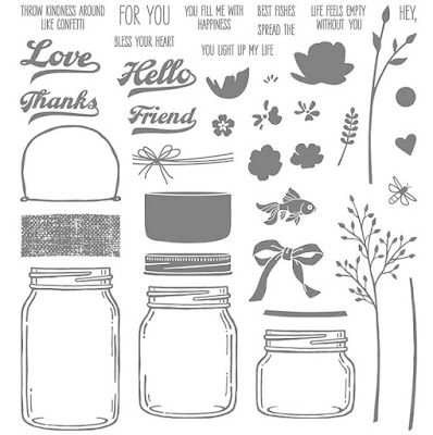 Jar of Love stamp set, Stampin' Up!