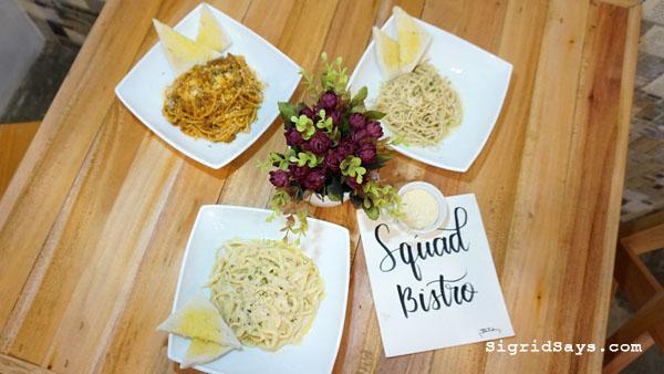 Squad Bistro - Bacolod restaurants - pasta