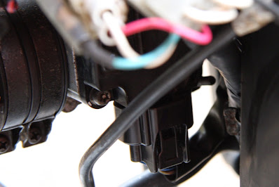 Yamaha YBR 125 Throttle position / intake air temp and pressure sensors