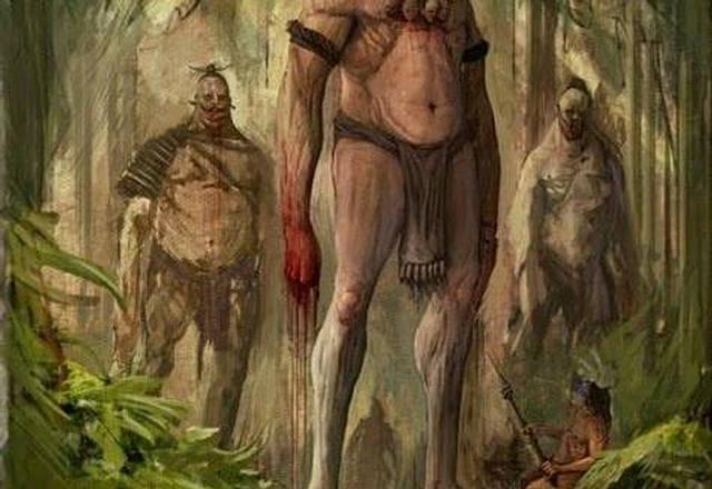 """História proibida: """"Vaticano oculta uma antiga raça de gigantes brancos que foi descrita pelos indígenas"""""""