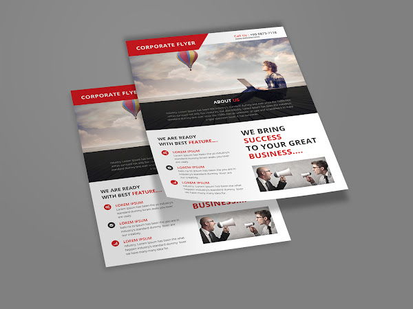 Download Corporate Flyer Template PSD Free