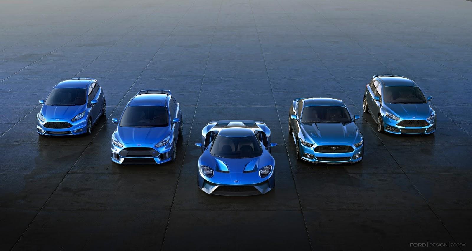 FocusRS Production 01 Το πρώτο Focus RS βγήκε από τη γραμμή παραγωγής του Saarlouis στη Γερμανία, έρχεται και το Ford GT