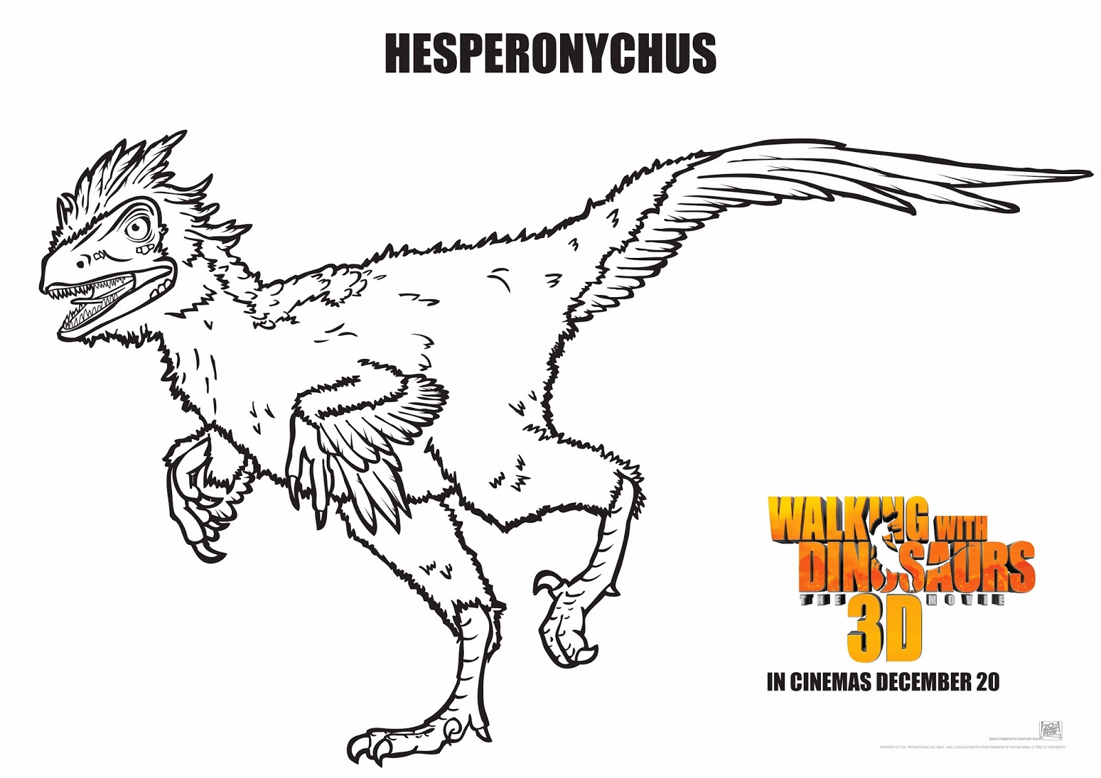 walking with dinosaurs coloring pages - photo #16