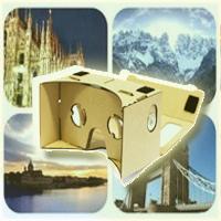 Menggunakan Aplikasi VR (Virtual Reality)
