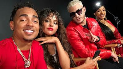 "Selena grava clipe com Cardi B e Ozuna para novo single do DJ Snake intitulada ""Taki Taki"""