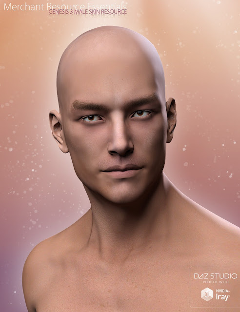 Merchant Base Skin Essentials for Genesis 3 Males