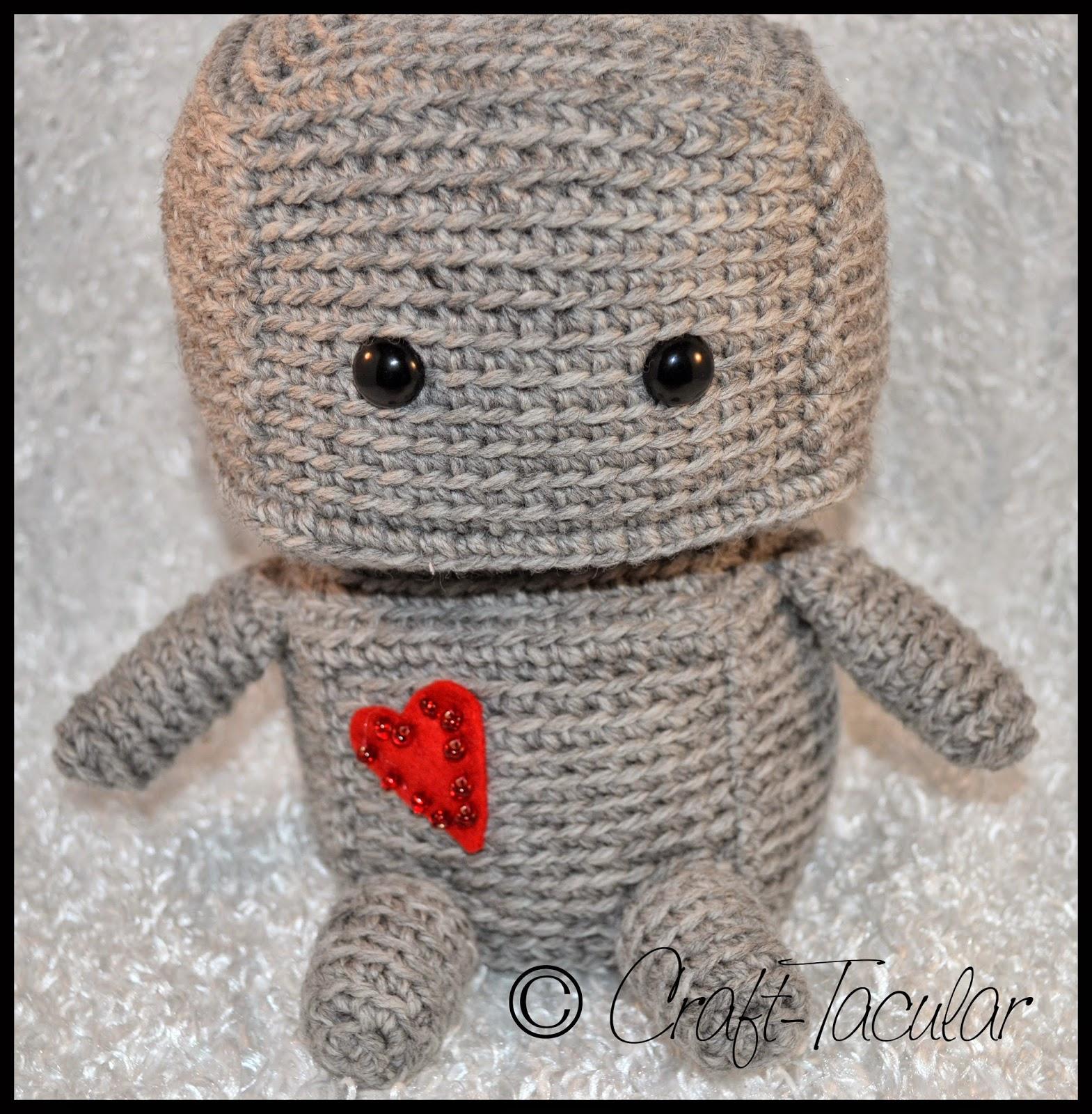 Crochet Robot Leia Amigurumi - Others - doitory - doitory   1600x1569