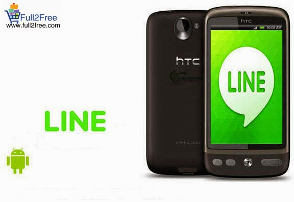 Android App : LINE- Free Calls & Messages v4.6.1