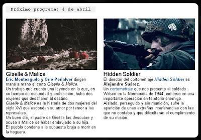 'Gisëlle&Malice' en La 2 de TVE