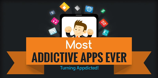 Most Addictive Apps Ever [infographic]