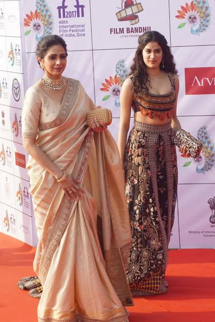 Sridevi Stills At IIFI 2017 Opening Ceremony