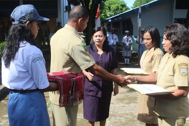 SMK Negeri 1 Tansel Lepas 241 Siswa Ikut Praktek Kerja Industri Tahun 2019