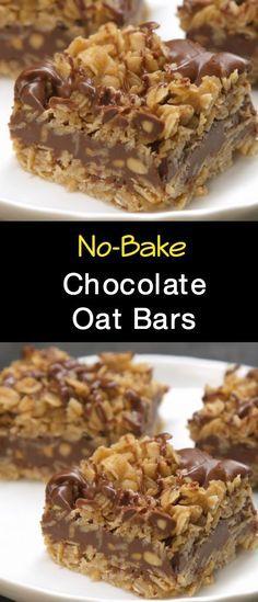 Bake Chocolate Oat Bars