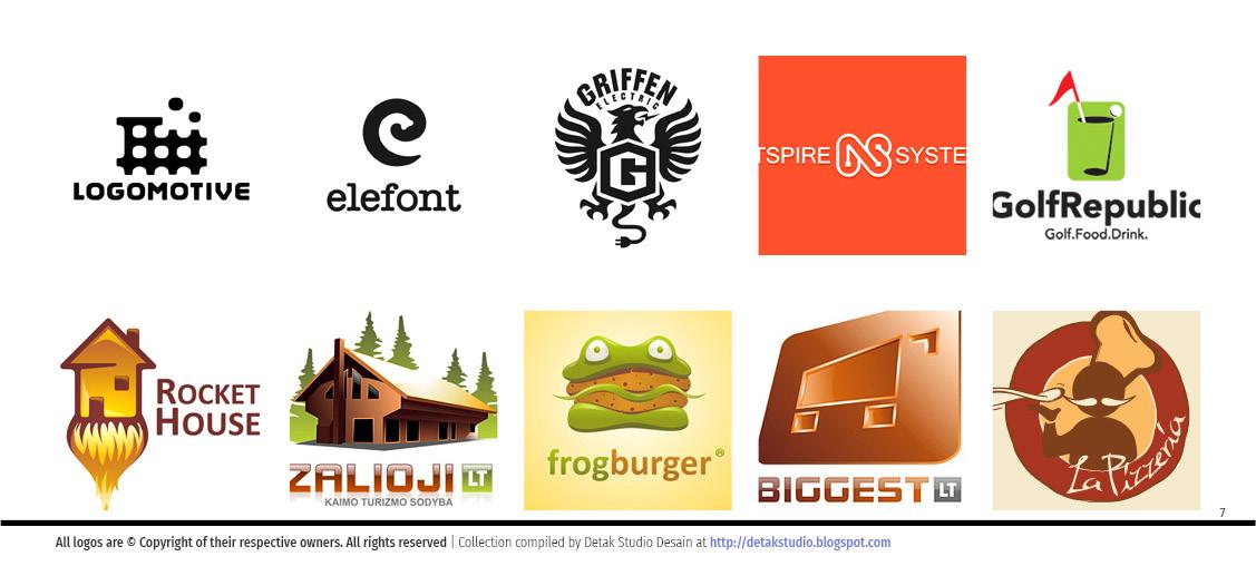 Contoh Desain Logo Perusahaan Unik dan Keren