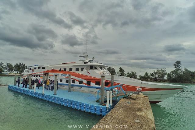 express bahari ke pulau tidung