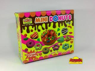 Fun-Doh Mini Donuts, fun doh indonesia, fun doh surabaya, distributor fun doh surabaya, grosir fun doh surabaya, jual fun doh lengkap, mainan anak edukatif, mainan lilin fun doh