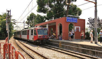 Pompei Scavi train station
