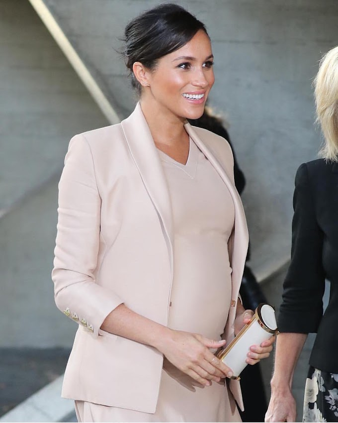 The Duchess Of Sussex; Meghan Markle, Is Absolutely Rocking Pregnancy Well! Check Out Her Glow.