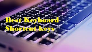 Best Keyboard shortcut keys@myteachworld.com