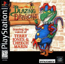 Blazing Dragons cover