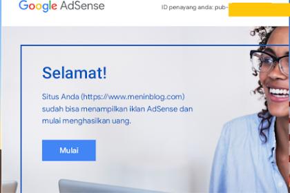 Tips Agar Blog Diterima atau Diapprove Google Adsense