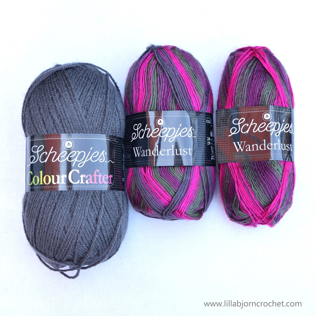 Wanderlust by Scheepjes is 100% soft acrylic variegated yarn - review on www.lillabjorncrochet.com